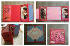 Mother's Day roses gatefold card   Supplies, cardstock, scrapbook paper, cuttle bug, scoreboard, trimmer, adhesive runner, pics, punches