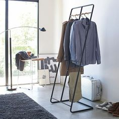 Hanger Rack, Coat Hanger, Clothes Hanger, Deco Design, Wood Design, Closet Works, Maximize Small Space, Small Spaces, Laundry Rack