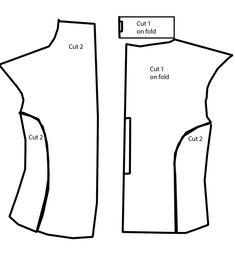 Image result for rey vest pattern