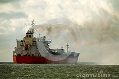 Chemical Tanker on its way to the open sea.