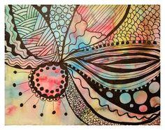 Watercolour, Finding Nemo