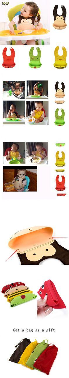 25 pieces/lot infant kids feeding bib Waterproof Baby Bibs Non-Toxic Silicone Infant Feeding Free Washable $128