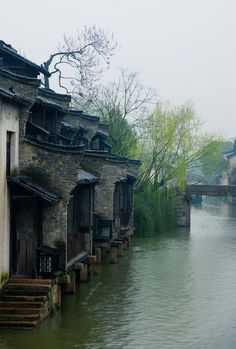 Wuzhen (乌镇) is a historic scenic town, located in northern Zhejiang Province, China Beijing, Visit China, Chinese Architecture, Architecture Office, Futuristic Architecture, Foto Art, China Travel, Chinese Culture, Historical Sites