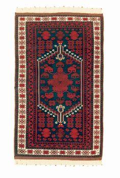 Balıkesir-Yağcıbedir-el-halısı20.yy Turkish Kilim Rugs, Turkish Carpets, Magic Carpet, Islamic Art, Oriental Rug, Rugs On Carpet, Fiber Art, Bohemian Rug, Hand Weaving