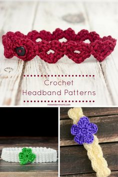 Crochet Headbands are normally easy projects to complete in a short amount of time. This is a collection of crochet headband patterns complete with tips!