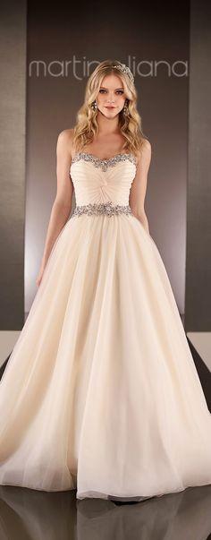 Martina Liana Spring 2015 Bridal Collection - Belle The Magazine