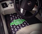 Car Mats Monogrammed Gift Ideas Car Accessories Car Mat Personalized Car Mats Monogrammed Car Mats Front Set