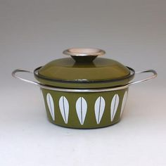NORWAY CATHRINEHOLM GREEN SMALL POT
