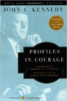 Written in 1955 by the then junior senator from the state of Massachusetts, John F. Kennedy's Profiles in Courage served as a clarion call to every American. The inspiring true accounts of eight unsung heroic acts by American patriots at different junctures in our nation's history, Kennedy's book became required reading, an instant classic, and was awarded the Pulitzer Prize. http://amzn.to/1yPtkcX