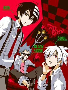 The boys from Soul Eater