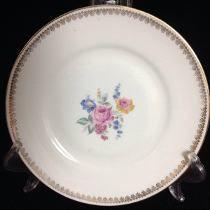 Prato De Parede Floral Porcelana Maua - R$42,00