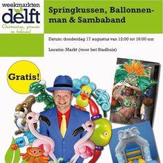 We hebben vandaag weer een extra gezellige markt in Delft. Er staat een springkussen er komt een balonnenman  en er loopt een sambaband . Kom gezellig naar de markt op de Markt in Delft en sluit samen met ons de zomervakantie van regio midden af.   #pepaondermode #delft #markt #marketdelft #delftsemarkt #spektakel #springkussen #ballonnen #sambaband #gezelligheid #fun #happy #balloon #men #awesome #samba #nice #jump #eindof #summer #shop #play #enjoy #love
