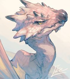 Dragon Drawing – 75 Picture Ideas – Drawing Ideas and Tutorials Mythical Creatures Art, Magical Creatures, Fantasy Monster, Monster Art, Creature Concept Art, Creature Design, Fantasy Dragon, Fantasy Art, Manga Dragon