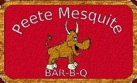 Peete Mesquite BBQ  we offer tender Angus brisket, succulent pork ribs, juicy pork steak, smoked chicken, turkey breast and regular or jalapeno sausage.  Save room for the homemade cobblers and pies.
