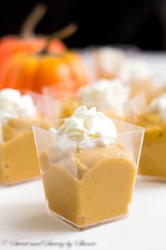 This creamy homemade pumpkin pudding from scratch is easier than you think. Forget about the boxed stuff, this homemade version is much tastier!