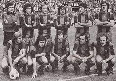 Equipos de fútbol: BARCELONA contra Sevilla 07/11/1976