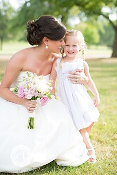 I simply adore flower girl shots.