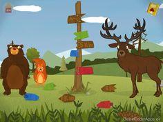 Squirrel Bär App - Englisch lernen Kinder Apps (5)