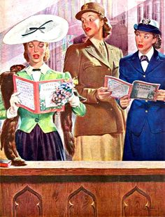 My Puzzles - Vintage Stuff - Easter Hat Envy 1944