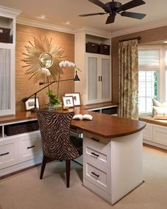 Working from home is a common occurrence these days so a home office can be a great addition to any living space. Although the home office might not make y