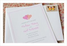 #free printables, #free monogram, #free, #free Save the Date, Save the Date, #customizable, Two Hearts, $0