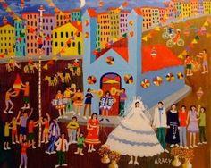 Aracy Pintora naif brasileira DE ARTE EM ARTE : PINTURAS DE FESTAS JUNINAS E A PINTURA NAIF BRASILEIRA