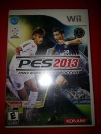 Brand New Pro Evolution Soccer 2013 for Nintendo Wii free shipping