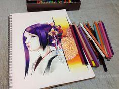 Cytus - Saika by yoongxuan.deviantart.com on @deviantART