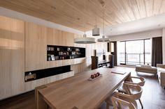 네추럴 우드로 친환경적인 편안한 디자인의 아파트 :: 릴리의 팹디