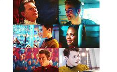 Star Trek...d'aw look at their smiles.