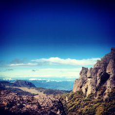 Cerquita del cielo! Blue sky. Cerro Chirripo, Costa Rica!