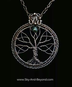 Sky and Beyond via Facebook Wire Wrap Jewelry group.