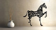 Cali-Horse wall decal  for Adeline