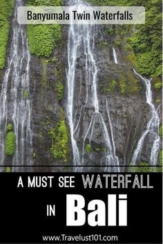 This comprehensive guide to Banyumala Waterfall in north Bali has all the tips and resources for planning your adventure to this gorgeous bucket list item. Bali Travel Guide, Travel Guides, Travel Tips, Travel Destinations, Travel Advice, Travel Abroad, Asia Travel, Solo Travel, Beach Trip