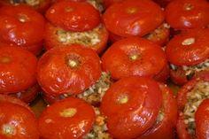 Perfect Greek Stuffed Tomatoes