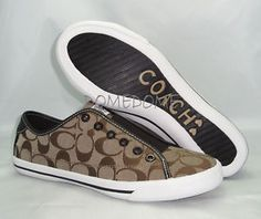 Coach slip-on sneakers! Just about worn these out - but I love them!