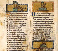 BnF : Le Roman de Renart - Le piège du puits