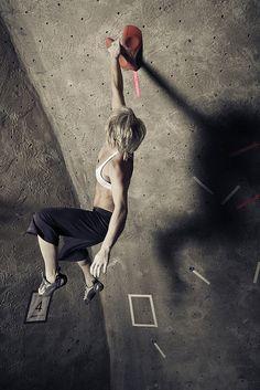The world is full of climbers: Amanda Berezowski