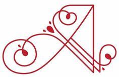 A #monogramme #A lettres-et-monogrammes