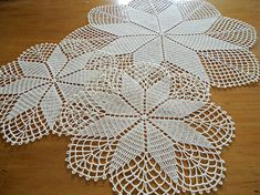 For your consideration are 3 lovely vintage ecru crocheted doilies, one large and 2 small. Measurements: SEE PHOTOS They are in very good condition with no holes. They may need a fresh pressing upon arrival due to shipping. Rating: 2-2