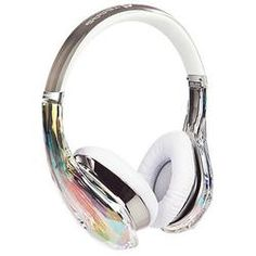 Monster Crystal Headphones in White - Multi-talented engineer, songwriter, producer and actor JYP in collaboration with the technology experts at Monster, has created headphones that are world-class in both sound and design.