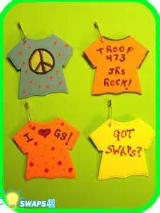 Image detail for -Girl Scouts Crafts, Patch Work and Activities - Girl Scout SWAPS Pins