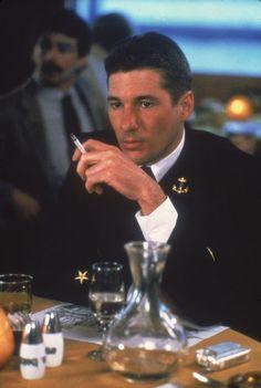 Richard Gere como Zack Mayo en la película 'Oficial y Caballero' (An Officer and a Gentleman) (1982)