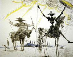 Salvador-Dali-Don-Quixote-600x467.jpg (600×467)