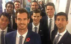 ロンドンで行われている男子テニスATPワールドツアーファイナル! その年の年間成績上位8人だけが出場する大会。  4人ずつ2つのグループに分かれて総当たりの1次リーグを戦い、グループの上位2人が準決勝に進む。  左から錦織君、モンフィス、ワウリンカ、チリッチ、ラオニッチ、ジョコビッチ、ティエムそして世界ランク1位のマレー。 錦織君はマレー、ワウリンカ、チリッチと同グループ。 みんな強敵だょ(^_^;))) でも頑張って欲しいなぁ( v^-゜)♪ #ATPワールドツアーファイナル #テニス #錦織君 #みんな強敵 #頑張って欲しい