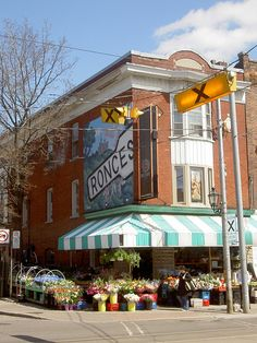 Love this st    Ronces - High Park Toronto Ontario aka Roncevelles   (sp)   wonderful baKERIES