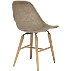 KARE Design Forum Wood Chair with Armrest