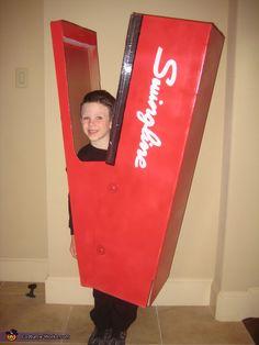 Human Stapler - 2012 Halloween Costume Contest