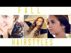 Go-To Hairstyles for Fall!