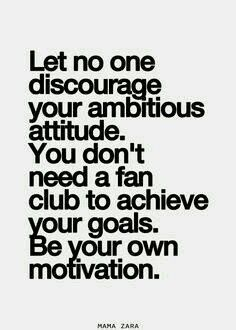 Let others dont let you down.